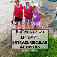 5 Ways to Save Money On Extracurricular Activities - @DashOfEvans