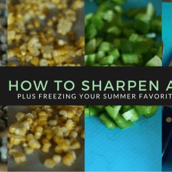 How To: Sharpen Your Knives {Plus…...