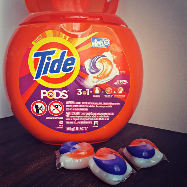 P&G is a proud supporter of Team USA--head to Walmart for all of your favorite products, including Tide Pods. -- @DashOfEvans