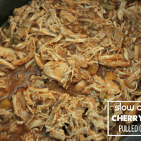 Perfect time of year for a simple slow-cooker meal! This Cherry Cola Pulled Chicken uses Zevia, green chiles and chipotles in adobo. The flavor is ah-mazing. It pairs well with BBQ sauce or just plain, too! via @DashOfEvans