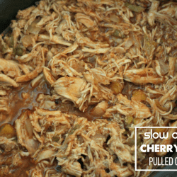 Slow-Cooker Cherry Cola Pulled Chicken