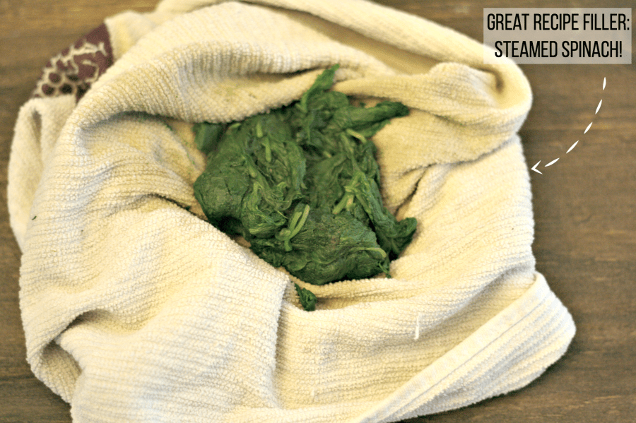 MYO steamed spinach for an easy meal filler! via @DashOfEvans