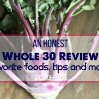 I tried Whole 30 and here's my honest review. See my tips and find out what happened after 8 days! | @DashOfEvans