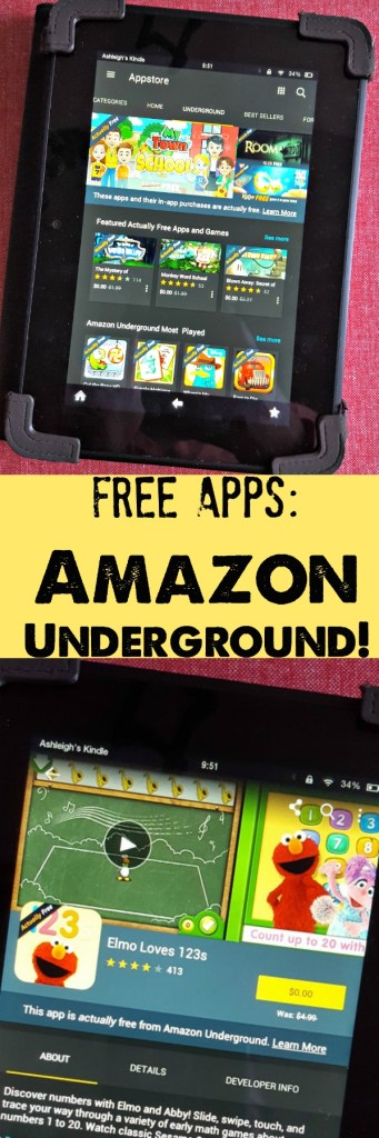 An ode to the Kindle Fire: it's the perfect tablet for kids! Did you know you can get FREE apps with Amazon Underground, too? #AmznUnderground #ad
