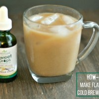 How to: Make cold brew iced coffee. Save money and make your own cold brew at home! via @DashOfEvans