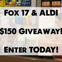 Fox17 is giving away $150 ALDI gift cards--enter TODAY!