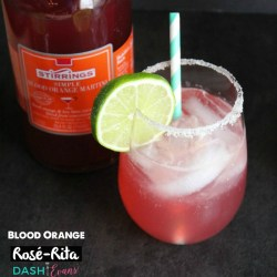 Birthday Cocktail: Blood Orange Rosé-Rita!