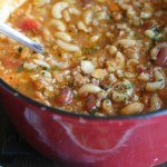 Classic Pasta e Fagioli with Mixed Beans...