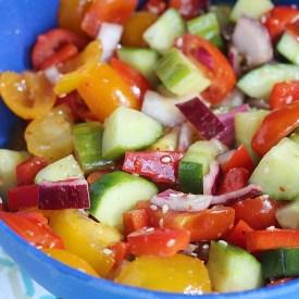Noodles + Co Copycat: Tomato & Cucumber Salad