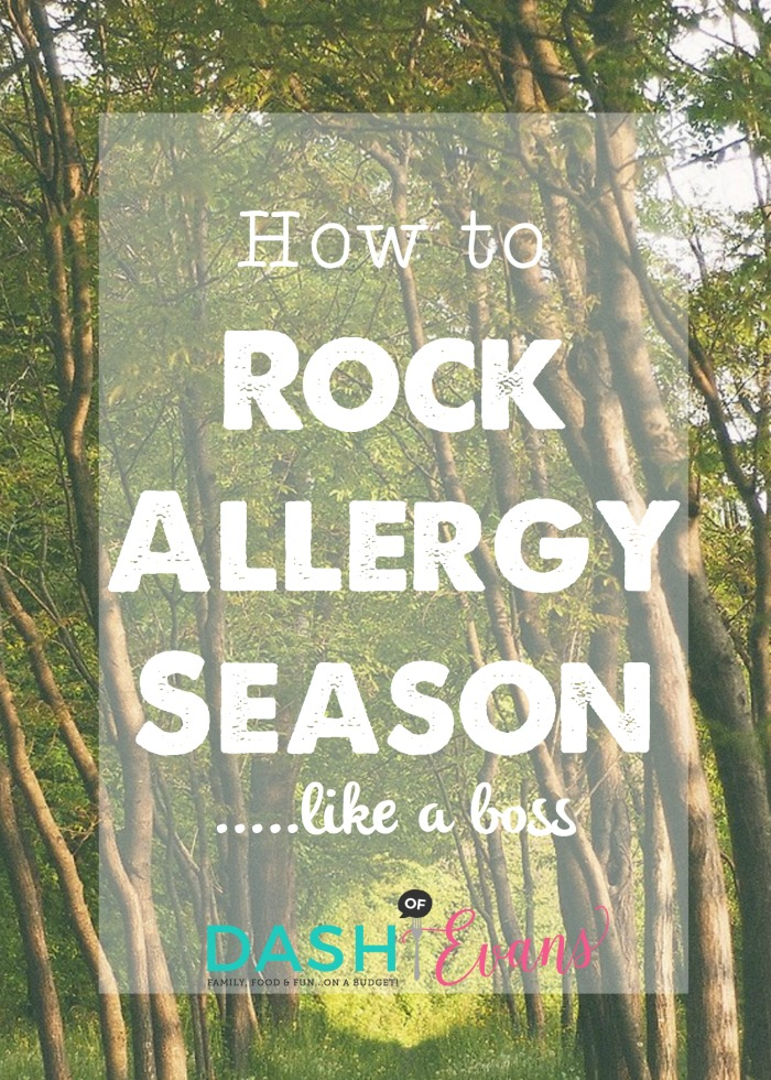 Allergy season doesn't have to be a burden with these simple tips and Xyzal® Allergy 24HR relief! via @DashOfEvans #ForgetAllergies #CBias