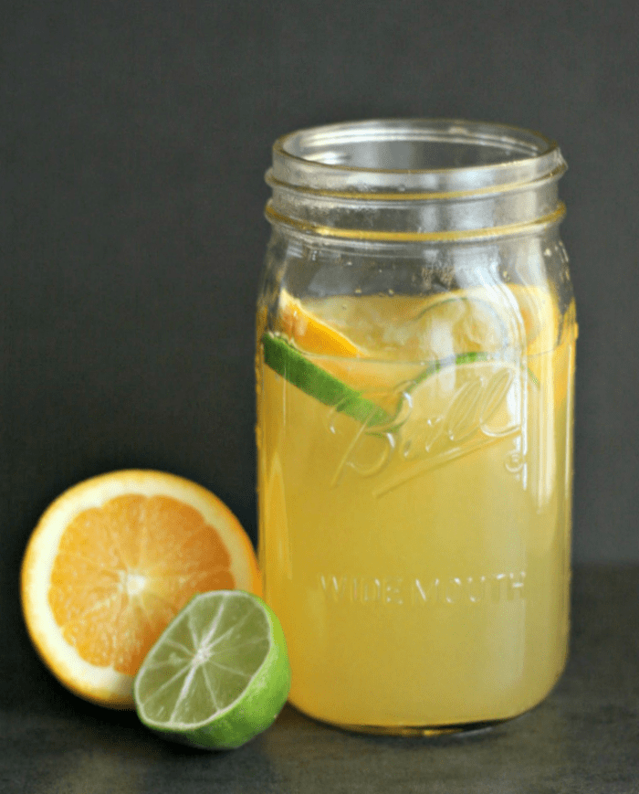 For all of those Mamas-to-Be: DIY sour mix! Fresh citrus juiced with simple syrup makes the BEST mockarita! via @DashOfEvans