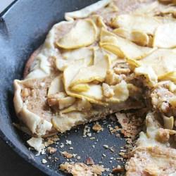 Simple Dessert: Apple Walnut Skillet Tar...