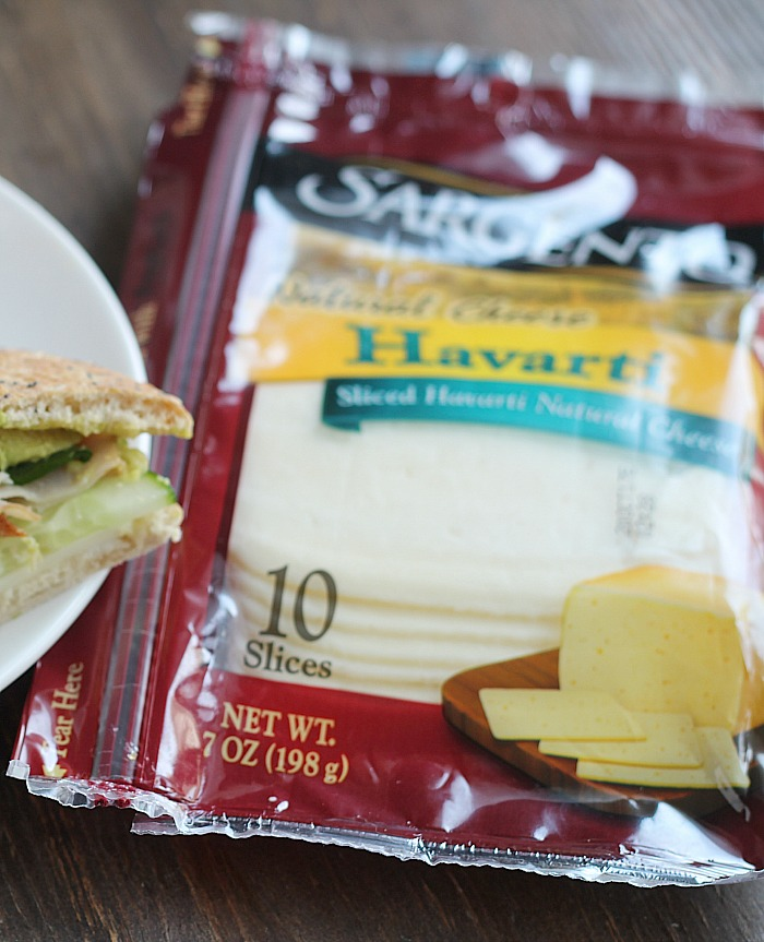 Simple sandwiches are the perfect snack or lunch during the summer...and the kids can help make them! This Cali Club with Sargento Havarti cheese is perfect! via @DashOfEvans