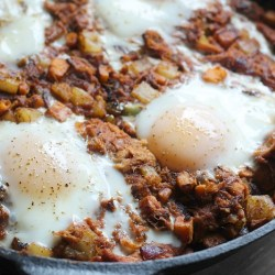 Curly's BBQ Pulled Pork Hash