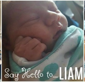 Our new edition: Meet Liam!
