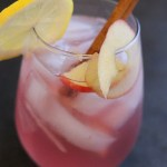 Delicious fall sangria featuring white wine and Alizé Passion! via @DashOfEvans