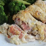 Lemon Pepper & Asiago Stuffed Chicken Breast