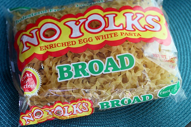 No Yolks noodles are a staple in our pantry. They're perfect for soups and comfort food dishes! via @DashOfEvans