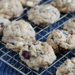 This is about to be your new favorite holiday cookie: Cranberry Hootycreeks! Bite sized oatmeal pecan cookies with white chocolate chips and dried cranberries....YUM! via @DashOfEvans #HousefulofCookies
