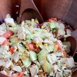 Southwest Chopped Salad with Blackened C...