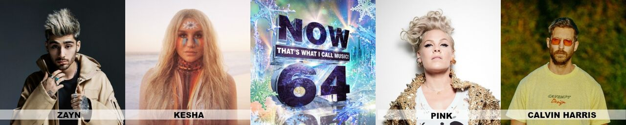 All of the hits in one place with Now 64! via @DashOffEvans