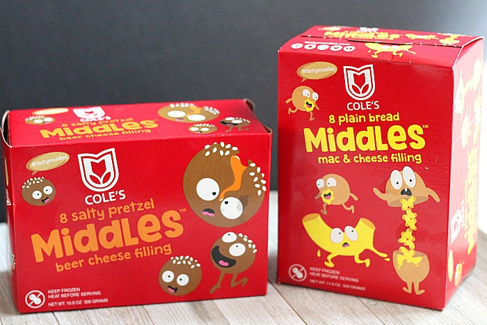 Find delicious Coles MIDDLES in the Walmart freezer section! A perfect treat for after-school snacks, football parties or any game night! via @DashOfEvans