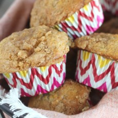 Easy Banana Crumble Muffin Recipe