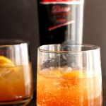 Looking for a new refreshing whiskey cocktail? Try this refreshing Whiskey Ginger Twist using ginger beer, Cinzano Rosso vermouth and a dash of bitters. So refreshing and simple, perfect for your next party! via @DashOfEvans #RespecttheDrink #Cinzano #21AndUp