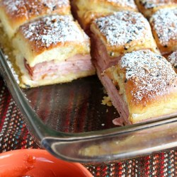 Friday Night Dinner: Monte Cristo Slider...
