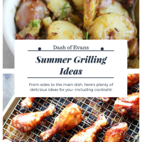 Looking for grilling ideas or dishes to pass for a BBQ? Here are some great ideas for you--all simple and packed with flavor! via @DashOfEvans