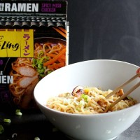 Have an easy takeout night at home with Ling Ling® Ramen--it goes from the freezer to your table in less than 5 minutes. YUM! via @DashOfEvans
