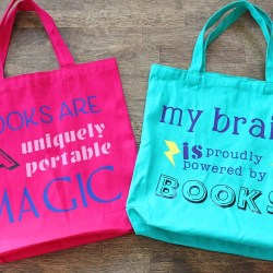 Cricut Fun: Easy Library Bags