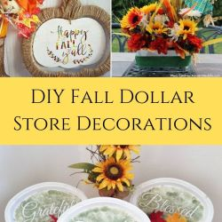 DIY Fall Dollar Store Ideas to Decorate ...