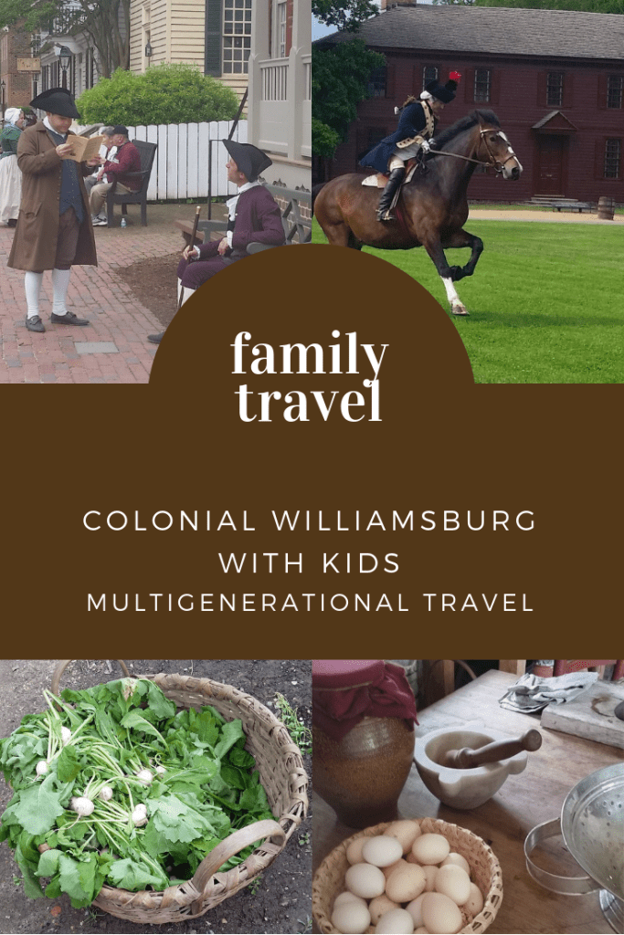 How to plan a colonial Williamsburg vacation with your family. Tips and must-see places to visit! via @DashOfEvans