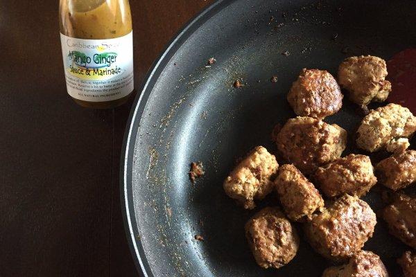 Pan-Seared Turkey Meatballs