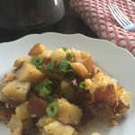 Easy, crispy oven-baked breakfast potatoes with the deep flavor of paprika. Recipe by Dash of Jazz
