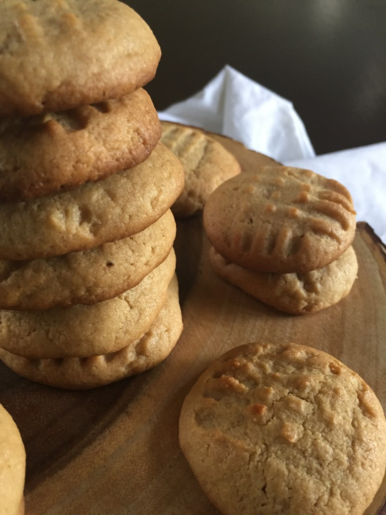 Spiced peanut butter cookies are classics with a twist of cinnamon, nutmeg, ginger, and clove. by Dash of Jazz