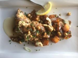 pappadeaux redfish and butternut squash