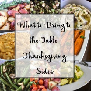 Thanksgiving Sides Roundup | Dash of Jazz