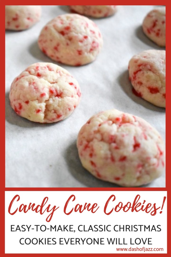 My Candy Cane Cookies (Adapted from the Betty Crocker Recipe)