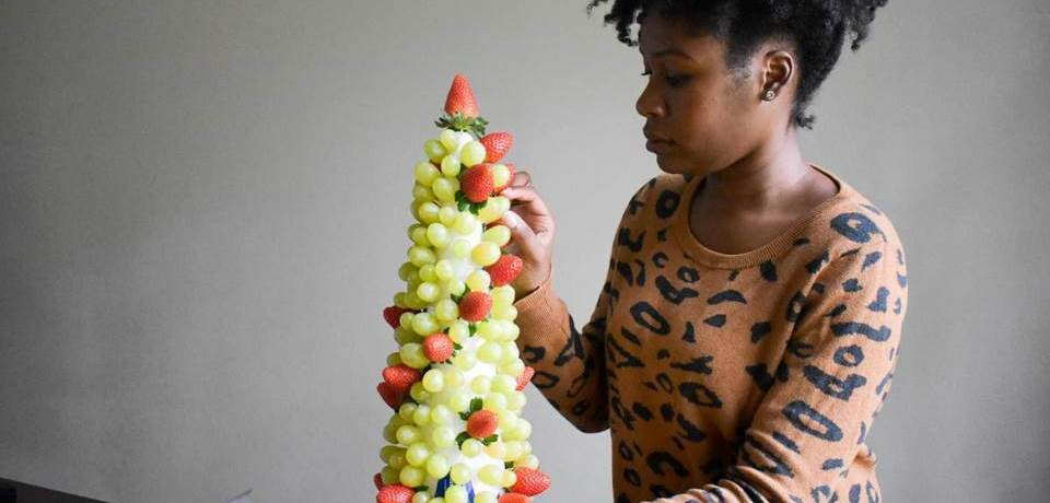 Festive Fruit Centerpiece | Dash of Jazz