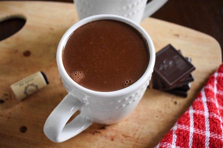 Red Wine Hot Chocolate   Dash of Jazz
