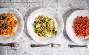 Veggie Noodles 3 Ways | Dash of Jazz