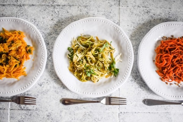 Veggie Noodles 3 Ways