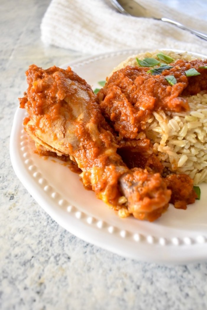 Nigerian Rice & Stew   Dash of Jazz