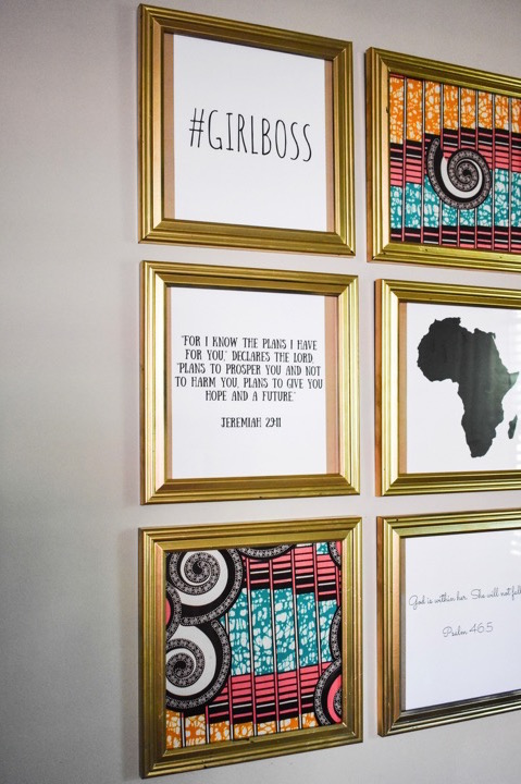 Building a Gallery Wall | Dash of Jazz
