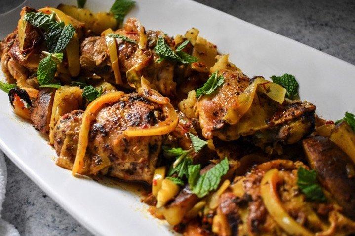 Slow Cooker Moroccan Chicken   Dash of Jazz