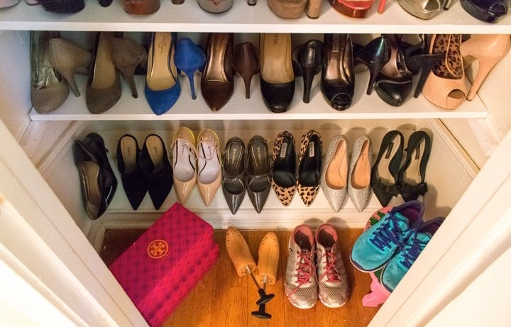 Weekend Project - DIY Shoe Closet | Dash of Jazz