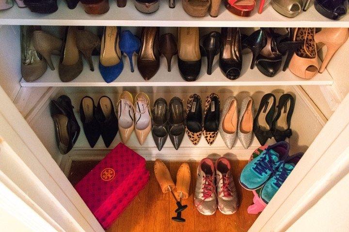 Weekend Project   DIY Shoe Closet | Dash Of Jazz