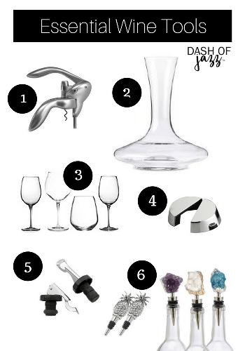 Budget-Friendly Wines & Essential Tools | Dash of Jazz